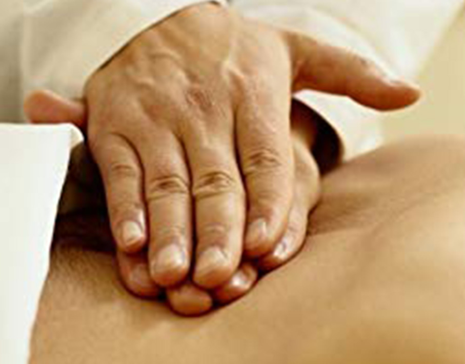 MASSAGE AS RELAXATION AND THERAPY BODY MANUAL THERAPY